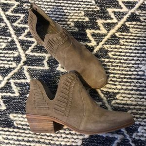 Ankle booties, with detail trim